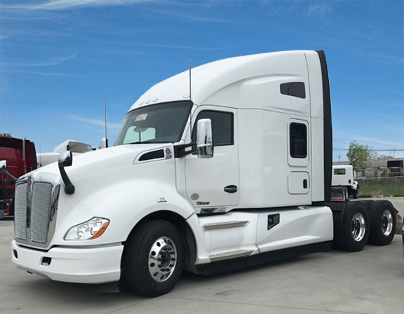 2017 Kenworth T680 76 Inch Double Bunk Sleeper