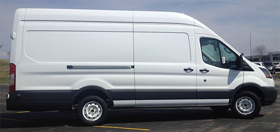 FORD TRANSIT 350 CARGO VAN – HIGH ROOF