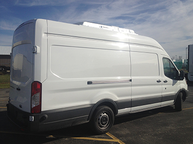 Ford Transit Van 350 With High Roof Refrigerated Vans
